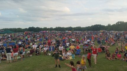 4th of July Crowds