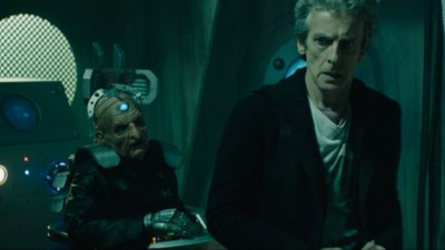 Davros And The Doctor