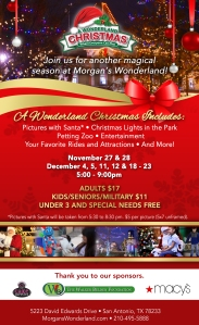 Wonderland Christmas Flyer